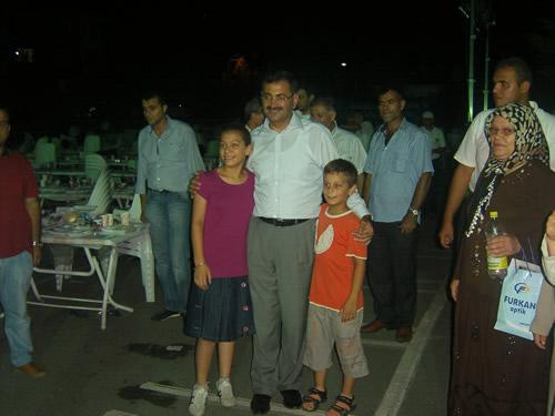 Üsküdar Bahçelievler mahallesinde sokak ifarları programına devam edildi.