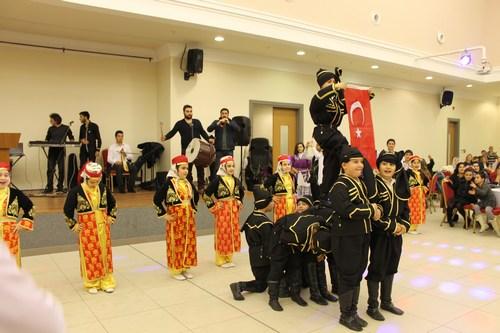 Çengelköy İlkokulu Okul Aile Birliği'nin düzenlemiş olduğu müzik, halk oyunları ve eğlence gecesi Kirazlıtepe Yaşam Merkezi'nde gerçekleştirildi.