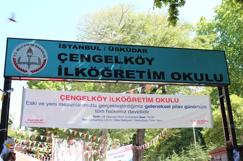 Çengelköy İlköğretim Okulu Geleneksel 11. Pilav Günü Şenliği yapıldı