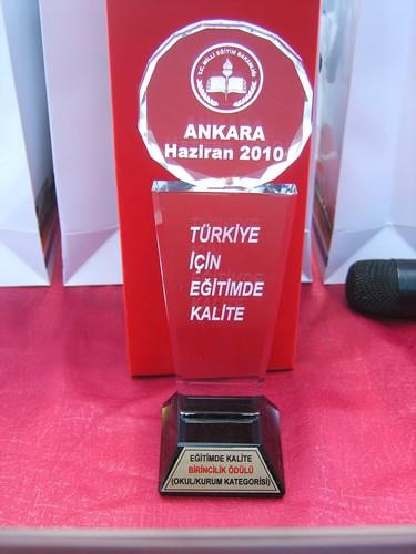 Çengelköy Lisesi Türkiye'nin En Kaliteli Okulu Ödül Töreni
