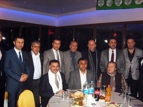 Çengelköyspor Kulübü'nün 32. kuruluş yılında düzenlenen birlik, beraberlik ve dayanışma gecesi