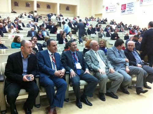 CHP Üsküdar İlçe Başkanlığı 9. Olağan Genel Kongresi 25 Mart 2012 Pazar günü Haydarpaşa Lisesi Kongre Salonu'nda gerçekleştirildi.