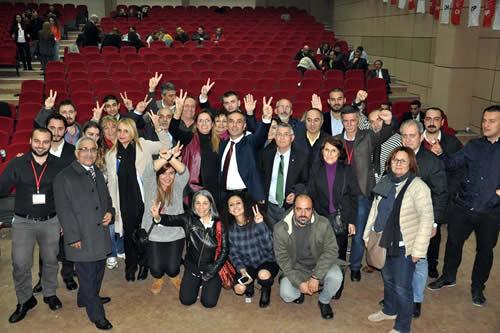 CHP Üsküdar 10. Olağan İlçe Kongresi'nde üç aday yarıştı