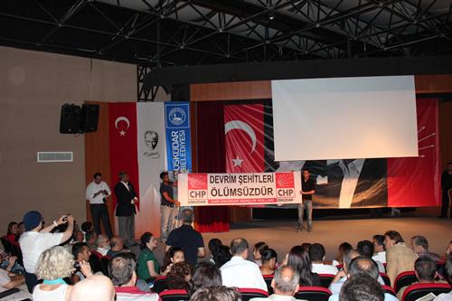 Kemal Türkler'in ölümünün 32. yılı düzenlenen anma etkinliğiyle Üsküdar'da anıldı.
