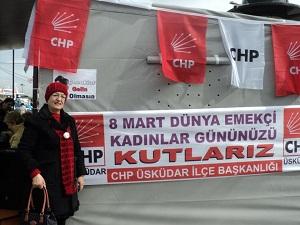 CHP Üsküdar İlçe Teşkilatı 8 Mart Dünya Emekçi Kadınlar Günü'nü düzenlediği etkinliklerle kutladı.