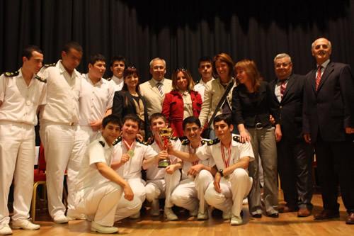 İstanbul'da bulunan denizcilik meslek liselerinin öğrencileri 14 Mayıs Pazartesi günü Üsküdar Gençlik Merkezi'nde düzenlenen bilgi yarışmasına katıldılar.
