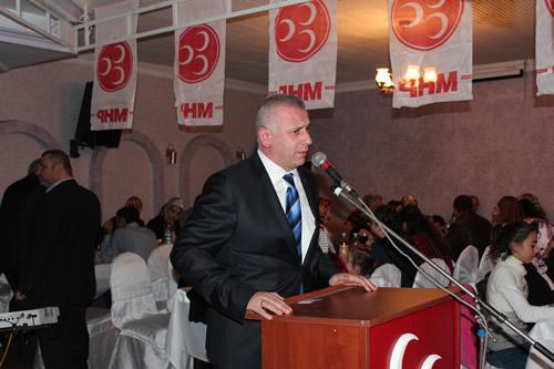 MHP Üsküdar İlçe Teşkilatı'nın her yıl düzenlediği ''Birlik ve Beraberlik'' gecesi Küçük Çamlıca Dilek Restaurant'ta gerçekleştirildi.