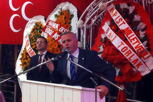 MHP Üsküdar İlçe Başkanı Habip Su içmez'in yaptığı konuşma...