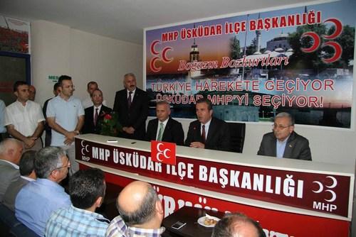 Milliyetçi Hareket Partisi Üsküdar İlçe Başkanlığı, uzun zamandır çalışmalar üzerinde çalıştığı Gazi Ahmet Kaleli Konferans Salonu'nun açılışını hafta sonunda gerçekleştirdi.