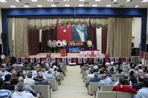 MHP Üsküdar İlçe Başkanlığı Olağan Genel Kongresi 3 Haziran 2012 Pazar sabahı Haydarpaşa Anadolu Lisesi Kültür Merkezi'nde partililerin katılımıyla gerçekleştirildi.