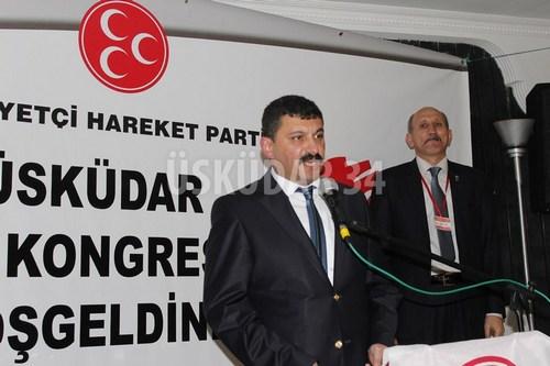 Milliyetçi Hareket Partisi Üsküdar İlçe Kongresinde Hakan Aslan güven tazeledi