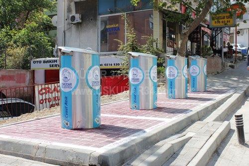 Üsküdar Belediyesi 2009 yılından itibaren başlatmış olduğu çalışmalarla Üsküdar'ın çöp sorununu çözmek için durmadan mücadele ediyor.