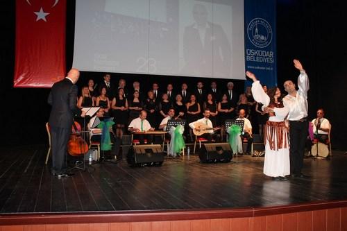 Rize Türk Müziği Korosu, Üsküdar'da 'Yaza Merhaba' konseri