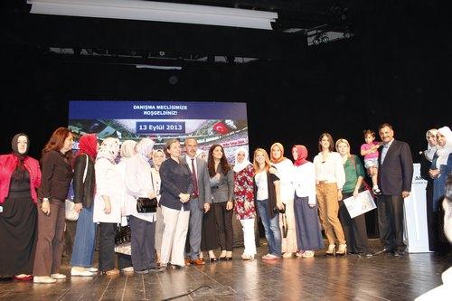 AK Parti Üsküdar İlçe Danışma Meclisi, 13 Eylül 2013 Cuma günü Bağlarbaşı Kültür Merkezi'nde gerçekleştirildi.