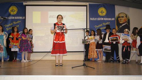 Sultantepe Ortaokulu 5. sınıf öğrencileri yılsonu etkinliği düzenledi