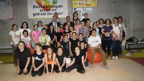 ''Tek Se�enek Spor'' projesi tamamland�