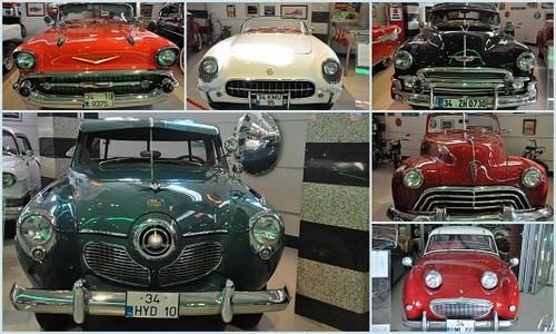 Ural Ataman Klasik Otomobil Müzesi'nde her biri otomobil tarihinde kilometre taşı olmuş klasikler yer alıyor.