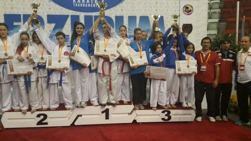11. Uluslararas� Paland�ken Karate Turnuvas� 2014