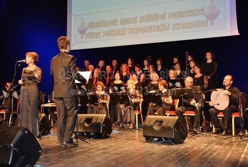Üsküdar Halk Eğitimi Merkezi, 07 Mayıs Salı günü Bağlarbaşı Kongre ve Kültür Merkezi'nde bir konser verdi.