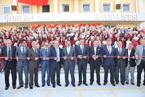 Ünalan Anadolu Kız İmam Hatip Lisesi eğitim-öğretime açıldı