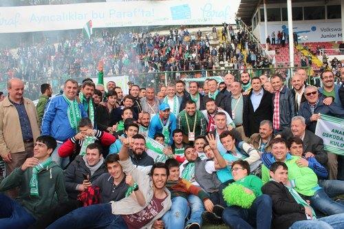 Üsküdar Anadolu 1908 Spor Kulübü 3. Lig 3. Grup'ta 2014-2015 sezonu şampiyonu oldu