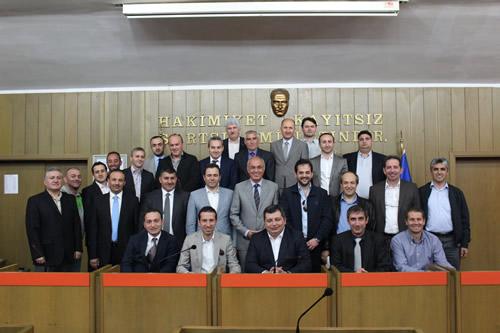 Üsküdar Belediye Spor Kulübü'nün 9. Olağan Genel Kurul toplantısı, Belediye Meclis Salonu'nda gerçekleştirildi.