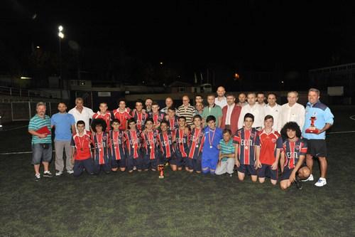 25. Uluslararası Kâtibim Kültür ve Sanat Şenliği kapsamında düzenlenen Üsküdar Belediyesi 8. Geleneksel Futbol Turnuvası'nda şampiyonluğu Selimiye Spor Kulübü kazandı.