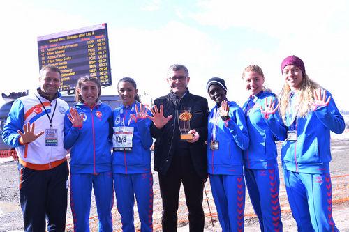 Üsküdar Belediyesi Atletizm takımı 5.'inci kez Avrupa Şampiyonu