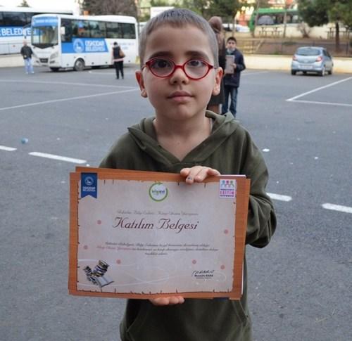 Üsküdar Belediyesi Eğitim Destek Merkezleri Bilgi Evleri Kitap Okuma Yarışması finali yapıldı