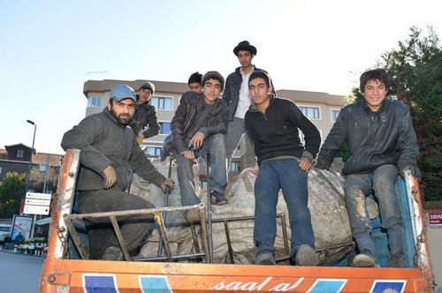 �sk�dar Belediyesi '�ek�ek�ileri' derli toplu hale getirmek i�in �al��ma ba�latt�