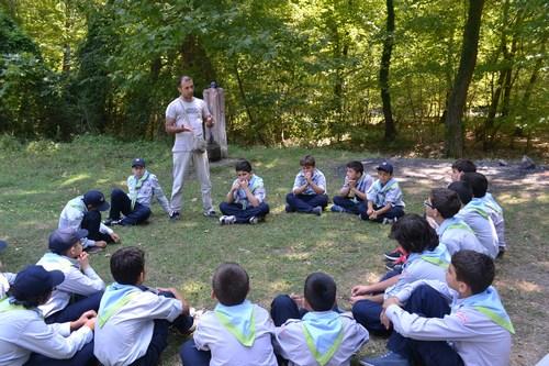 Üsküdar Gençlik Merkezi'nin Zonguldak'ta düzenlemiş olduğu Gençlik Kampı'na katılan 70 izci, okul öncesi moral ve enerji depoladı.