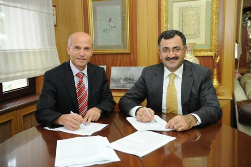 Üsküdar Belediyesi ile İşçi Sendikası arasında Toplu İş Sözleşmesi imzalandı