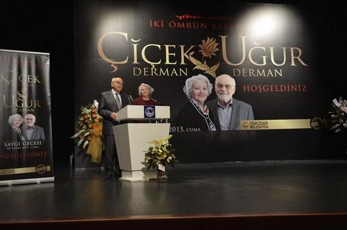 Üsküdar Belediyesi Kültür ve Sosyal İşler Müdürlüğü tarafından gerçekleştirilen etkinlikte, dostları ve öğrencileri iki güzel insan Prof. Dr. Çiçek Derman ve Prof. Dr. Uğur Derman'ı anlattı.