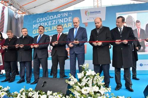 Üsküdar Gençlik Akademisi, katılımın büyük olduğu coşkulu bir törenle açıldı