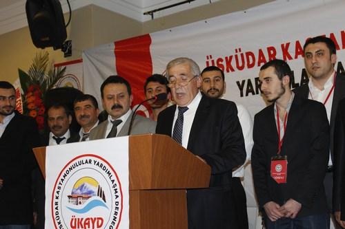 Üsküdar Kastamonulular Derneği, Kirazlıtepe Yaşam Merkezi'nde birlikte ve beraberlik gecesi düzenledi.