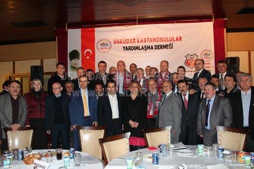 Üsküdar Kastamonulular Yardımlaşma Derneği, 21 Nisan 2013 Pazar akşamı Üsküdar Belediyesi Sosyal Tesisleri'nde düzenlediği gece ile Kastamonuluları bir araya getirdi.