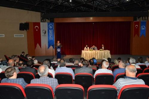 Üsküdar Kent Konseyi 7. Olağan Genel Kurulu Altunizade Kültür Merkezi'nde gerçekleştirildi.