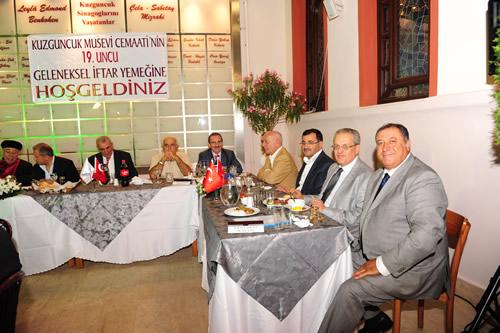 Üsküdar Kuzguncuk Musevi Cemaati'nin 19. Geleneksel İftar Yemeği gerçekleştirildi.