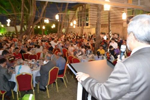 Üsküdar Müftülüğü coşkulu iftar programı düzenledi