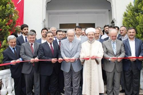 Üsküdar Belediyesi tarafından restorasyonu yapılan müftülük binası, törenle hizmete girdi.