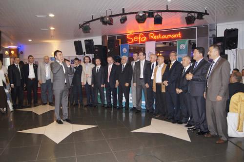Üsküdar Rizeliler Eğitim ve Kültür Derneği'nin 3. Tanışma ve Dayanışma Gecesi Çamlıca Sefa Restaurant'ta düzenlendi.