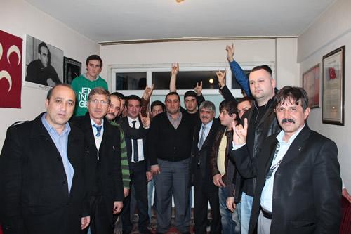 Üsküdar Ülkü Ocakları, İstanbul Ülkü Ocakları İl Başkanı Gökmen Kantar'ı misafir etti.