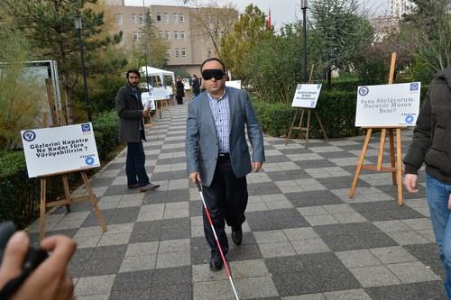 3 Aralık Dünya Engelliler Günü kapsamında Üsküdar Belediyesi bünyesinde etkinlik dolu bir gün yaşandı.