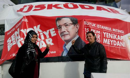AK Parti Büyük İstanbul Mitingi'ne Üsküdar'dan büyük katılım