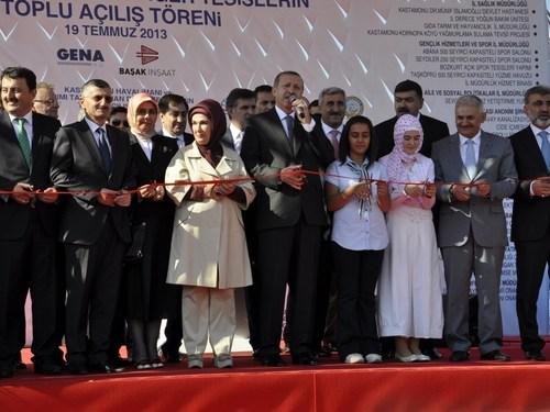54 yıldan bugüne kadar Kastamonuluların açılmasını merakla bekledikleri Kastamonu Havalimanı Başbakan Recep Tayyip Erdoğan tarafından açıldı.