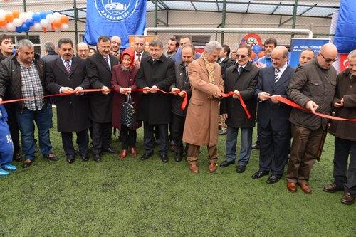 1995 yılında kurulan Valide Tayfun Spor Kulübü yeni bir spor merkezine kavuştu.