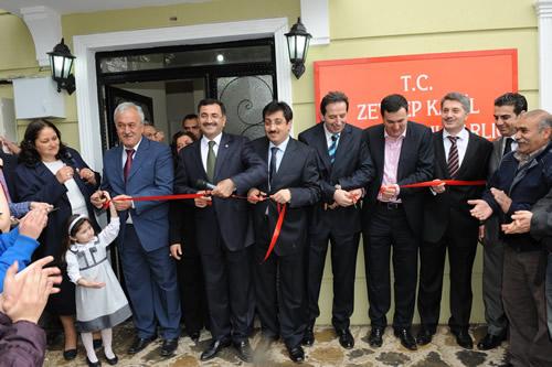 Zeynep Kamil Mahallesi yeni Muhtarlık binası açıldı...