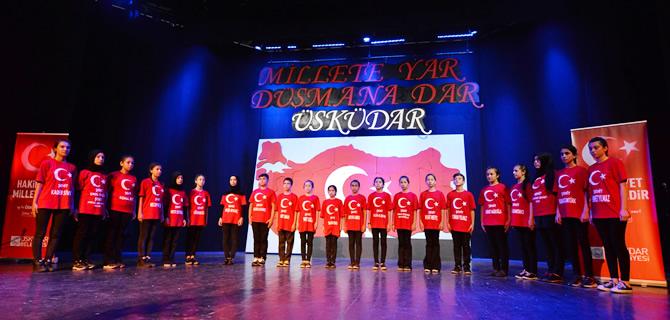 15 Temmuz Demokrasi Şehitleri Üsküdar'da anıldı
