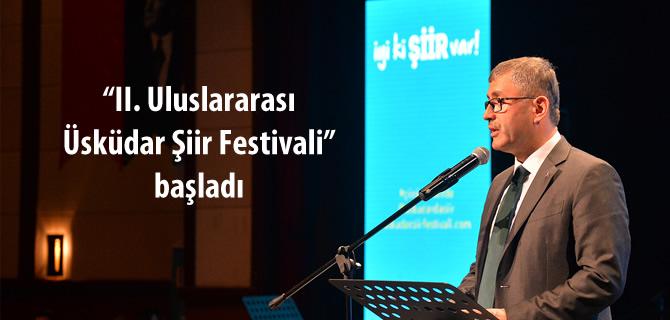 2. Üsküdar Şiir Festivali başladı
