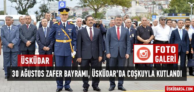 30 A�ustos Zafer Bayram� �sk�dar �emsipa�a Meydan�'nda kutland�